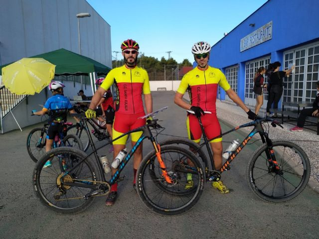 Cyclists from the Santa Eulalia Cycling Club participated in the OBM of Totana, which took place yesterday