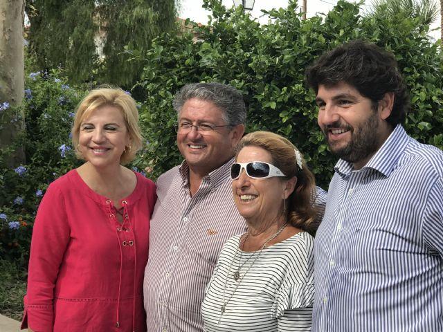López Miras asiste al día de los mayores de Los Alcázares, coincidiendo con la celebración de las Fiestas del Caldero - 3, Foto 3