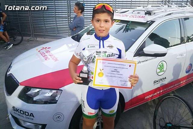 The totanero Luis Cayuela Cánovas triumphs in the Regional Road Bike Cycling Championship - 1