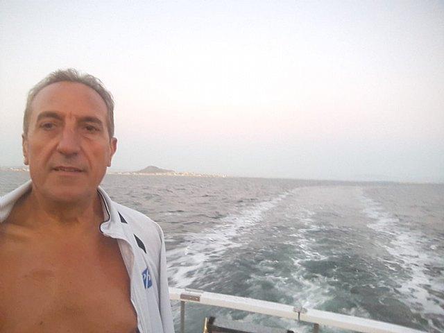 The totanero José Miguel Cano participated in the II swim crossing of the ENDURANCE MAR MENOR circuit - 1