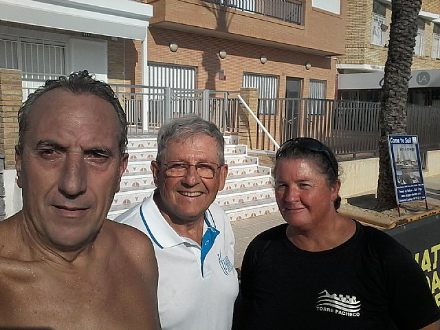 El totanero José Miguel Cano participo en la II travesía a nado del circuito ENDURANCE MAR MENOR, Foto 3