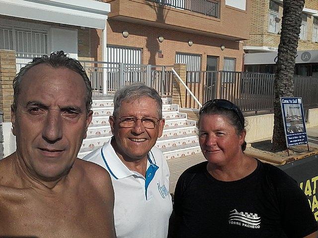 The totanero José Miguel Cano participated in the II swim crossing of the ENDURANCE MAR MENOR circuit - 3