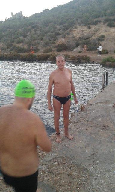 El totanero José Miguel Cano participo en la II travesía a nado del circuito ENDURANCE MAR MENOR, Foto 4