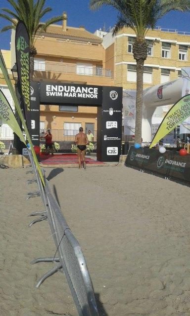 The totanero José Miguel Cano participated in the II swim crossing of the ENDURANCE MAR MENOR circuit - 7