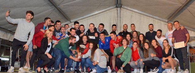 La peña 'El Desmadre' campeones del Campos Joven 2018 - 1, Foto 1