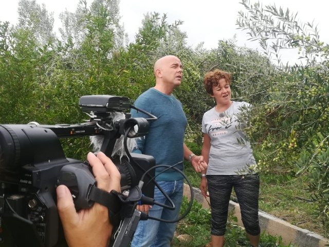 """On October 9, 11, 20 and 22, reports on Totana will be broadcast on the television program """"Here the Earth"""", on Spanish Television, Foto 4"""