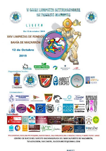 300 buceadores y voluntarios se darán cita este sábado en la XXV limpieza de fondos marinos, Foto 2