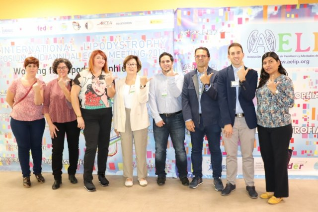The two lines of research of Lipodystrophies in Spain, present in the Annual ECLIP MEETING - 2