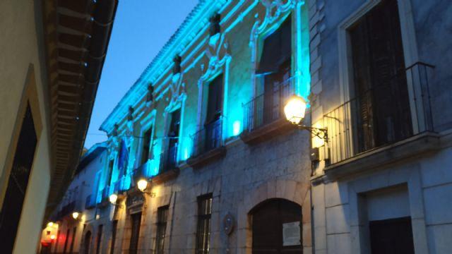 El Ayuntamiento de Cehegín iluminará de azul turquesa la puerta del consistorio con motivo del Día Internacional de la Dislexia - 1, Foto 1