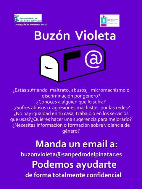 El Ayuntamiento de San Pedro del Pinatar a través del PAE crea El Buzón Violeta - 1, Foto 1