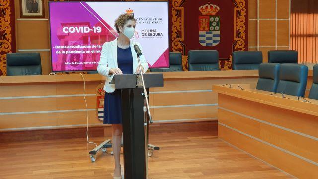 Molina de Segura mantiene 224 casos activos por COVID-19, 75 menos que hace una semana, con una incidencia acumulada en los últimos 7 días de 196,1 - 2, Foto 2