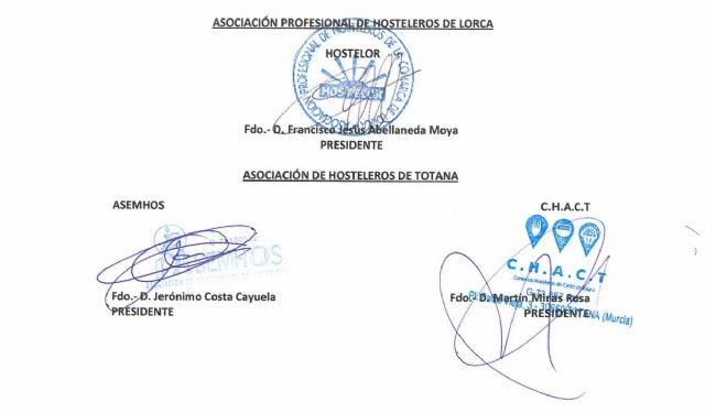 Hosteleros de Totana y Lorca lanzan un SOS, Foto 1