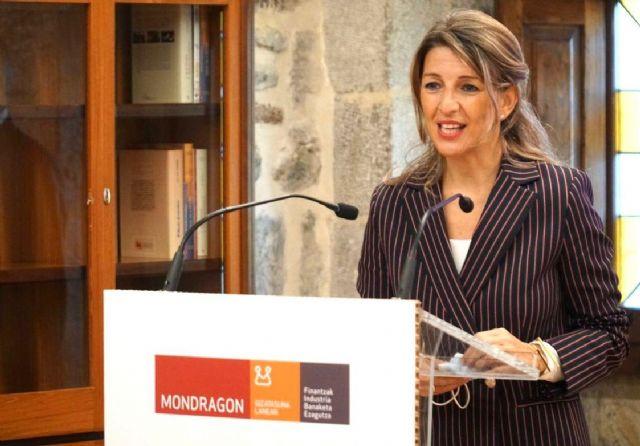 Yolanda Díaz visita Mondragon - 4, Foto 4