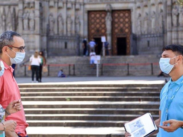 Tiqets busca reactivar el centro de Barcelona de forma segura con sus visitas gratuitas de bienvenida - 1, Foto 1