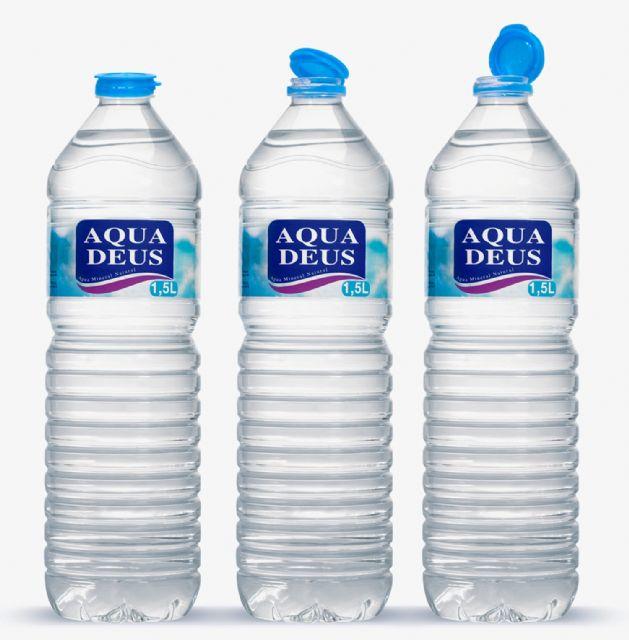 El formato de 1,5 litros de Aquadeus con tapón solidario, Foto 1
