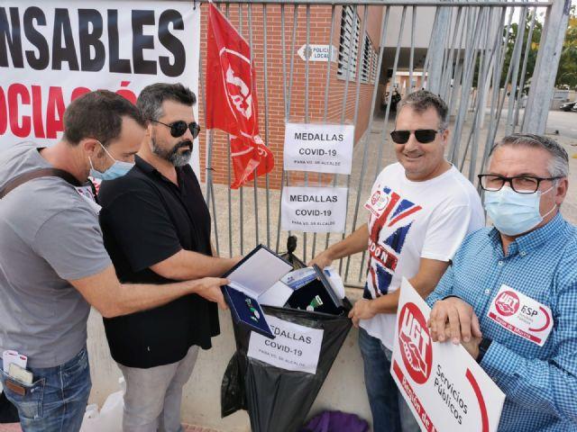La Policía Local de Las Torres de Cotillas continúa en pie de guerra por el ninguneo del alcalde a sus derechos laborales y pide la dimisión del concejal de Seguridad - 2, Foto 2