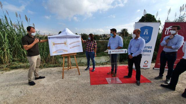 Los ayuntamientos de Molina de Segura y Las Torres de Cotillas firman un convenio para construir la pasarela peatonal que unirá las pedanías de La Ribera y La Loma - 5, Foto 5