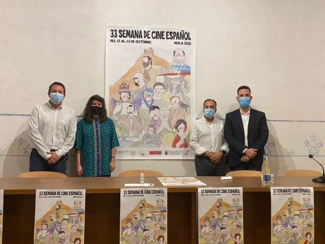 La artista murciana Rocío La Pequeña ilustra el cartel de la 33 Semana de Cine Español de Mula - 1, Foto 1