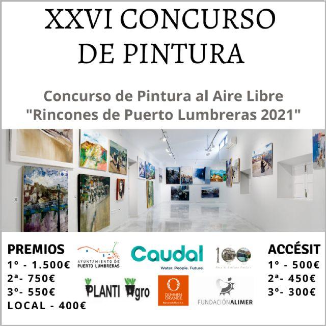 El Ayuntamiento organiza este domingo el XXVI Concurso de Pintura al Aire Libre Rincones de Puerto Lumbreras - 1, Foto 1