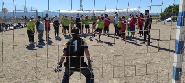 Alegría en el torneo de fútbol sala adaptado ´Apandis´ de los Juegos Deportivos del Guadalentín, Foto 4