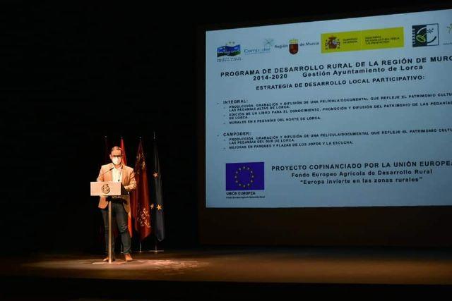El alcalde destaca la importancia de los fondos Leader para el desarrollo de proyectos que permitan luchar contra la despoblación y seguir difundiendo el patrimonio cultural de las pedanías - 1, Foto 1