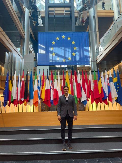 Águilas participa en las Jornadas de Política Juvenil Europea The European Youth Event que se están celebrando en el Parlamento Europeo - 1, Foto 1