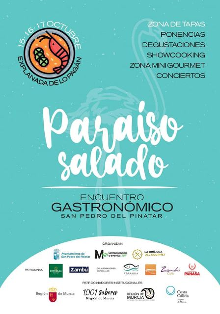 Ponencias, showcooking, visitas guiadas y conciertos se dan cita en San Pedro del Pinatar - 1, Foto 1