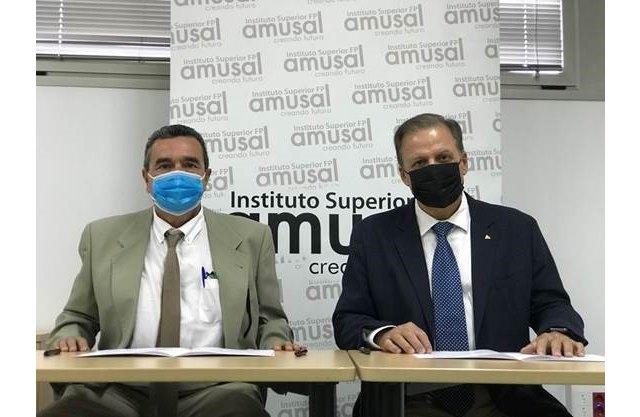 Amusal sigue apoyando al deporte regional y renueva su patrocinio con el CB Santo Ángel - 1, Foto 1