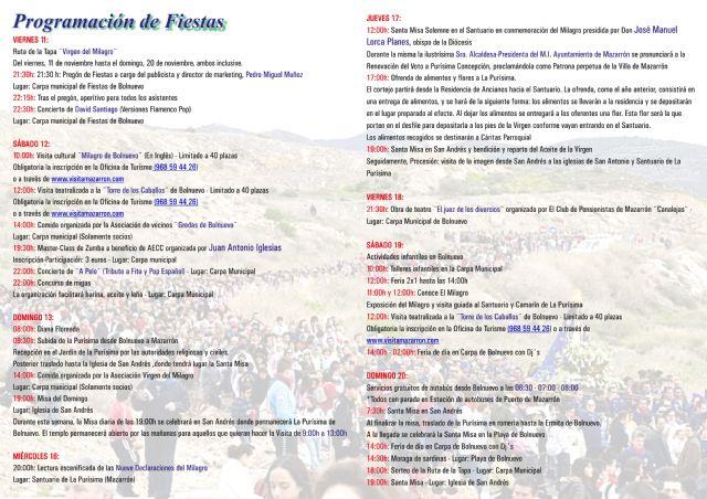 Feria de día y ruta de la tapa en las fiestas del Milagro, Foto 1