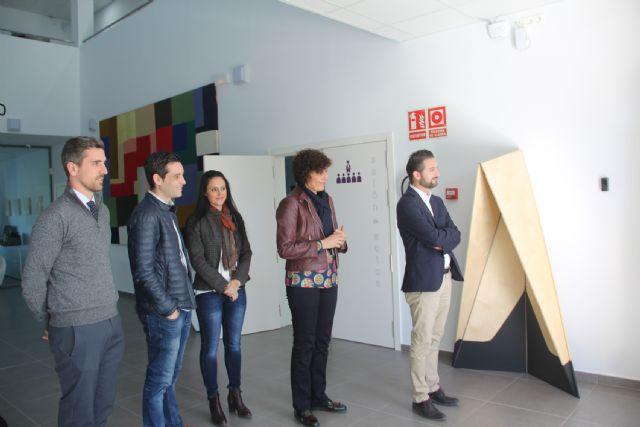 La alcaldesa de Puerto Lumbreras y el presidente de Guadalentín Emprende firman un convenio para el fomento del sector empresarial - 2, Foto 2