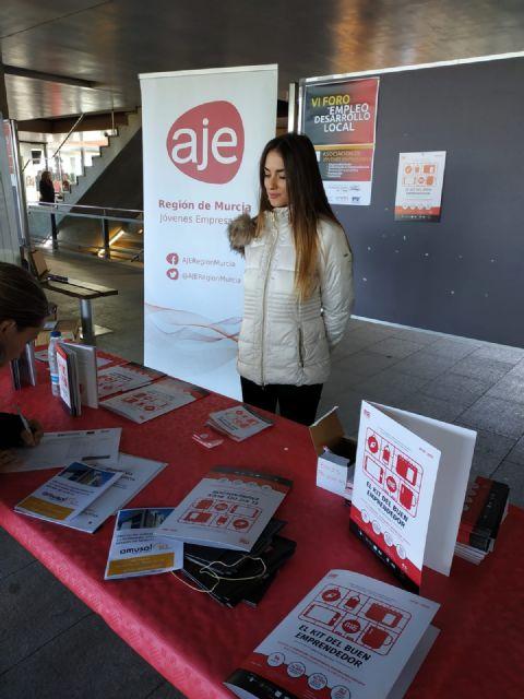 El Ayuntamiento de Totana, presente en el VI Foro Regional de Empleo y Desarrollo Local que se celebra en la Universidad de Murcia, Foto 6