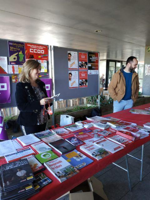 El Ayuntamiento de Totana, presente en el VI Foro Regional de Empleo y Desarrollo Local que se celebra en la Universidad de Murcia, Foto 7