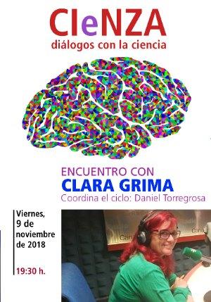 La matemática y divulgadora Clara Grima participa en el ciclo ´CIeNZA´ de la Biblioteca Regional - 1, Foto 1