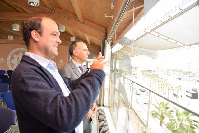 José Carlos Díez: «Cartagena tiene que basar su economía en las nuevas tecnologías apoyándose en la UPCT» - 1, Foto 1