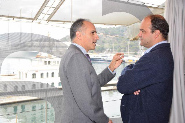 José Carlos Díez: «Cartagena tiene que basar su economía en las nuevas tecnologías apoyándose en la UPCT» - 2, Foto 2