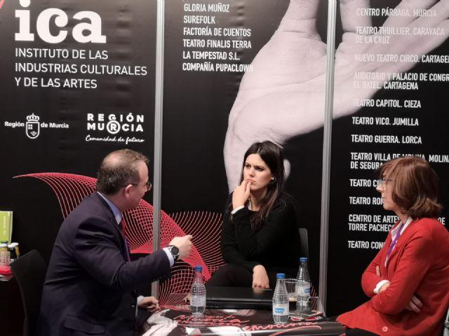 Cultura se alía con la Academia de las Artes Escénicas de España para promocionar el talento murciano, Foto 1