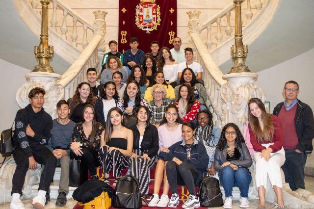 Cartagena recibe a 25 estudiantes estadounidenses que participan en un programa de Bachillerato Internacional - 1, Foto 1