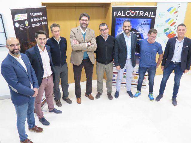 La prueba de montaña Falco Trail reunirá en la Región a unos 1.400 participantes procedentes de toda España, Foto 1