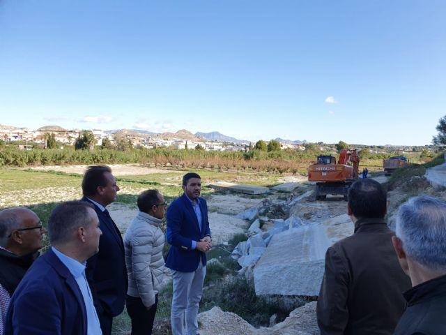 El consejero de Agua mantiene un encuentro con representantes de la Comunidad de Regantes de Ceutí - 2, Foto 2