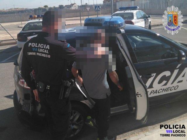 La Policía Local detiene en Torre Pacheco un varón presunto autor de un delito de violencia de género. - 1, Foto 1