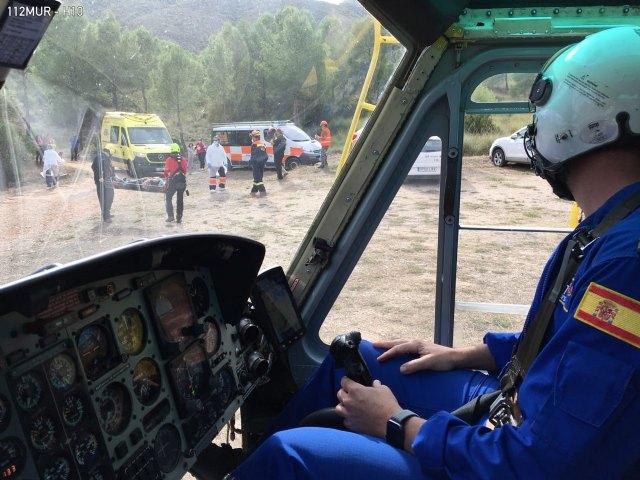 Rescatan una senderista en Calasparra - 1, Foto 1