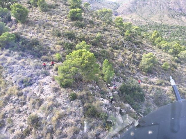 Rescatan una senderista en Calasparra - 2, Foto 2