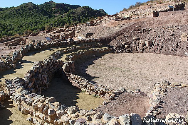 Somos Cultura denounces the abandonment of the works and the withdrawal of security at the La Bastida de Totana site