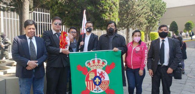 La Delegación de la Unión Monárquica en Bolivia, dió la bienvenida al Rey de España Felipe VI - 1, Foto 1