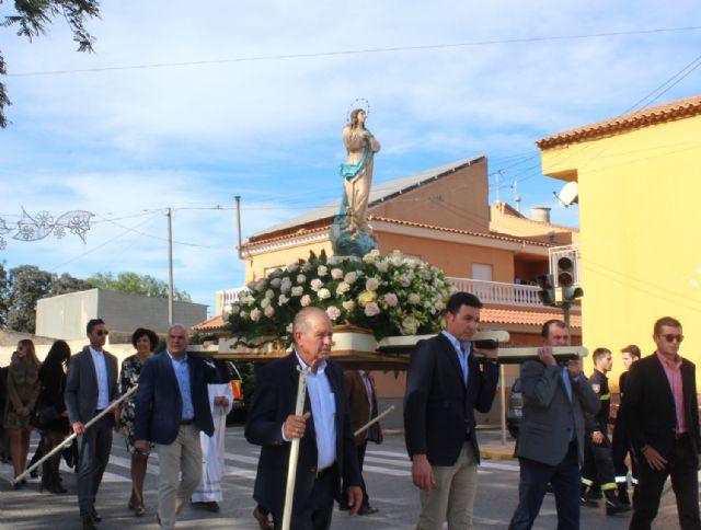 Cientos de vecinos rindieron homenaje a su patrona, la Purísima Concepción - 1, Foto 1
