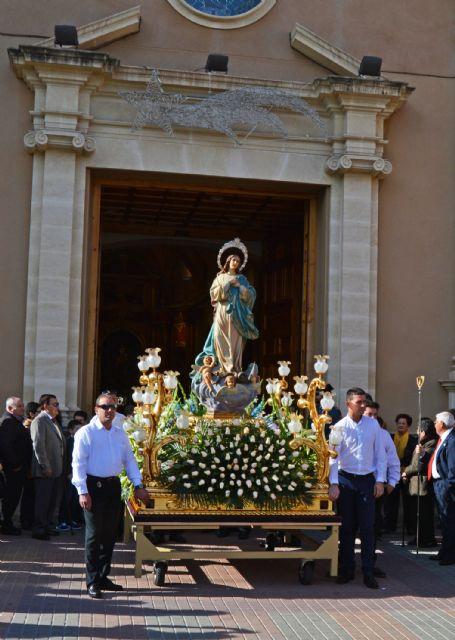La Purísima Concepción recibe el cariño de la Policía Local torreña - 5, Foto 5