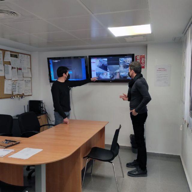 El Ayuntamiento instala cámaras de vigilancia para controlar la seguridad y limpieza en las calles de Blanca - 1, Foto 1