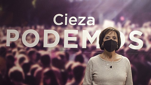 La Asamblea de Podemos-Cieza respalda a Maribel Aguayo como nueva portavoz local de la formación - 1, Foto 1