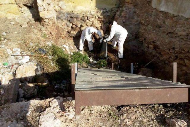 Cartagena continuan los trabajos de limpieza y for Trabajo de limpieza en murcia