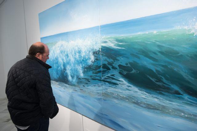 Cristóbal Pérez García ofrece una visita guiada a su exposición